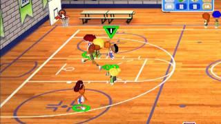 Backyard Basketball Season Playthrough: Game 1 - Court Jesters vs Monsters