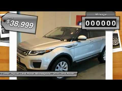 2016 Land Rover Range Rover Evoque Minneapolis, Golden Valley, St ...