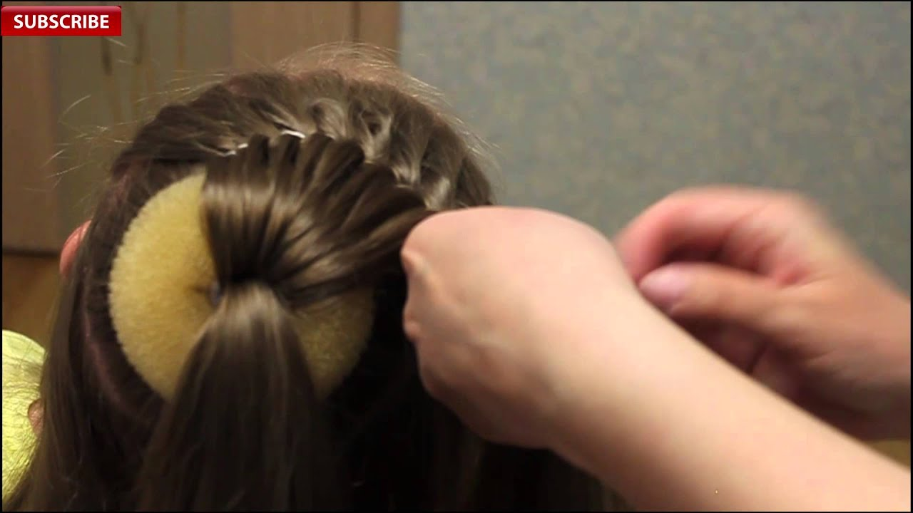 beautiful festive hairstyle for girls | back-to-school | best