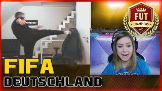 PROOWNEZ zerstört seinen Stuhl | FREUNDIN VON ERNÉ raged | FIFA 19 Highlights Deutsch