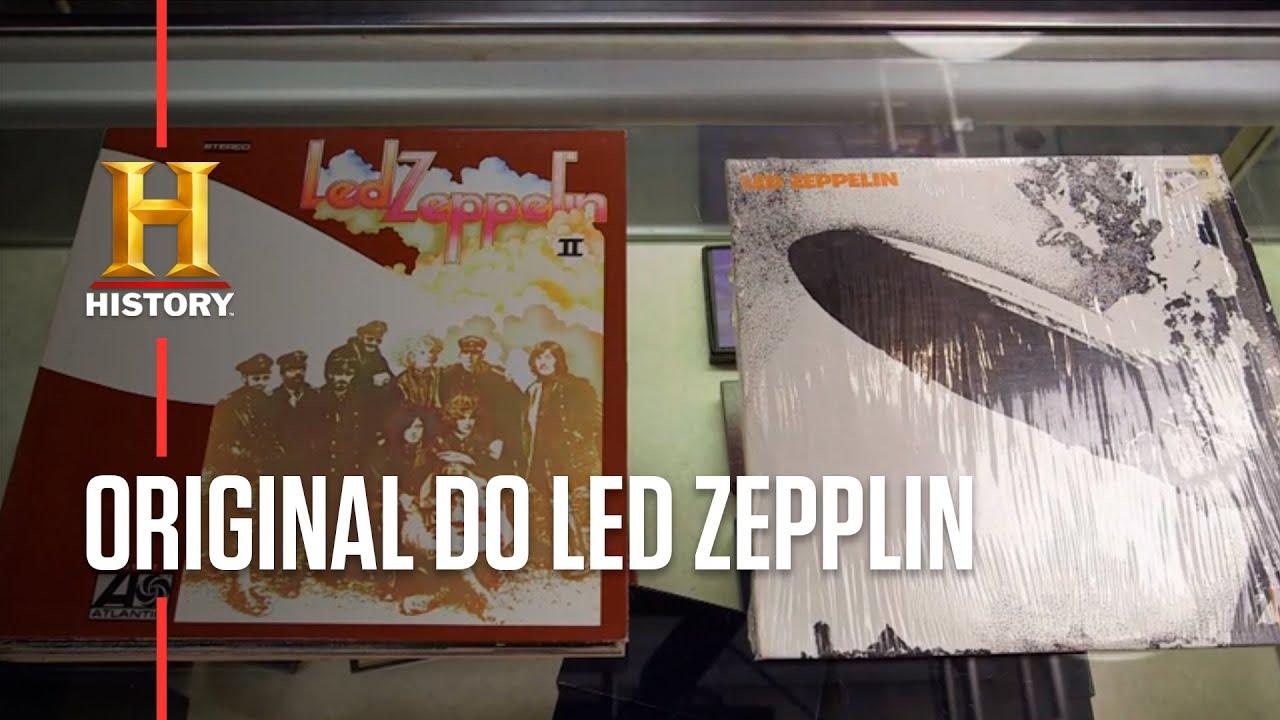 Quanto custa uma coleção de discos do Led Zepplin?   TRATO FEITO   HISTORY