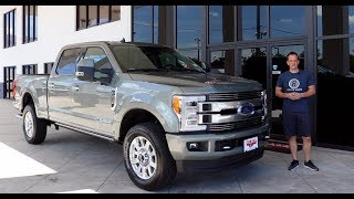 Why does the 2019 Ford F-250 Super Duty Limited set the STANDARD? - Raiti's Rides