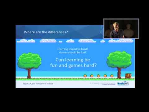Jonathan Watkins, Creating Engaging and Interactive Online STEM Content