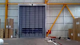 Scorpio - High Speed PVC Fold up Door