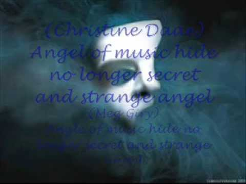 Angel of music lyrics