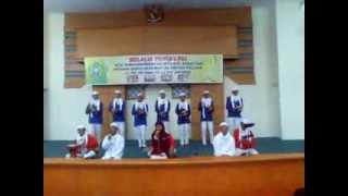 Marawis Smkn 10 Jakarta Juara 2  Tingkat Dki Jakarta 2012