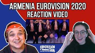 Armenia | Eurovision 2020 Reaction | Athena Manoukian - Chains on you