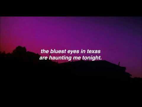 bluest eyes in texas // restless heart (lyrics)