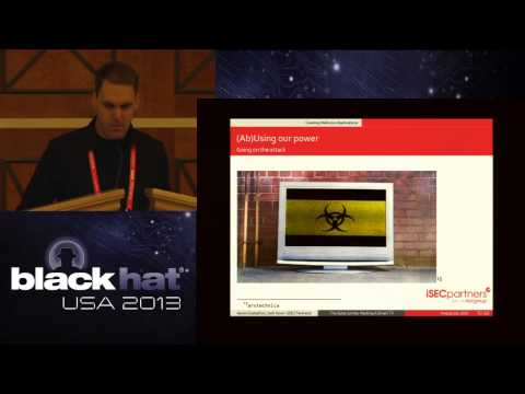 Black Hat 2013 - The Outer Limits: Hacking The Samsung Smart TV