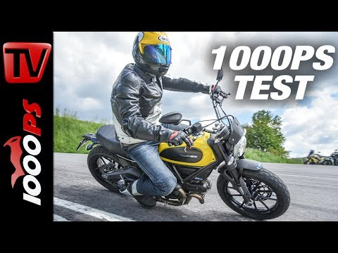 1000PS Test - Ducati Scrambler Icon by Ilmberger Carbon - coole Scrambler mit edlem Carbon-Zierat