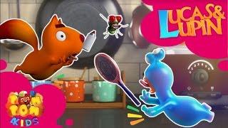 Phim hoạt hình cho bé - LUCAS & LUPIN | Tập 20 - CHÚ RUỒI ĐÁNG GHÉT | Phim hoạt hình vui nhộn