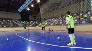 Ejercicio Porteros Elche CF Sala 31.01.19
