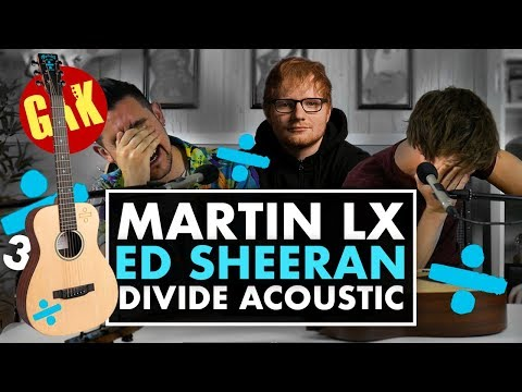 Martin LX Ed Sheeran 3 Divide Travel Electro Acoustic!