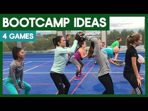 4 Boot Camp Games Boot Camp Workout Training Ideas For Coaches