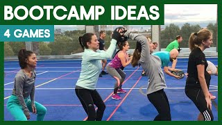 4 Boot Camp Games - Boot Camp Workout Training Ideas For Coaches