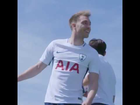 Spurs Kit Launch 17/18 - To the Top Gun Volleyball Music