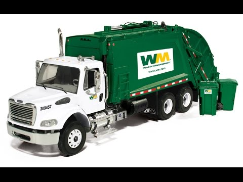 Toy Recycling Truck Garbage Trucks Toys Youtube