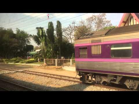 Train Padang Besar to Bangkok