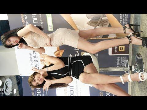 4K Racing Model 심지영 Shim Jiyeong 반지희 Ban Jihui #2 Horizontal Fancam 2017 SEOUL MONEY SHOW