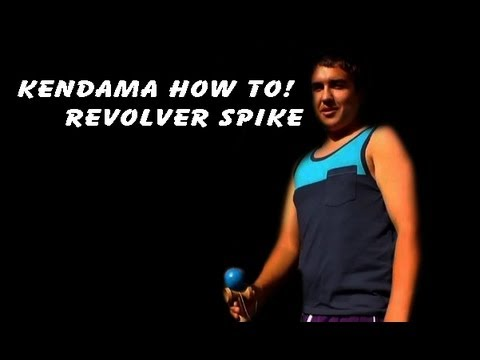 "Kendama how to: Revolver spike "" Gun slinger """