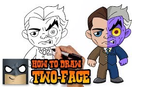 How to Draw Two Face | Art Tutorial