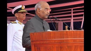 President Kovind addresses Golden Jubilee of Indian Navy's Submarine Arm
