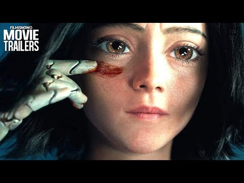 ALITA: BATTLE ANGEL Trailer #3 NEW (2019) - James Cameron Manga Live-Action Movie