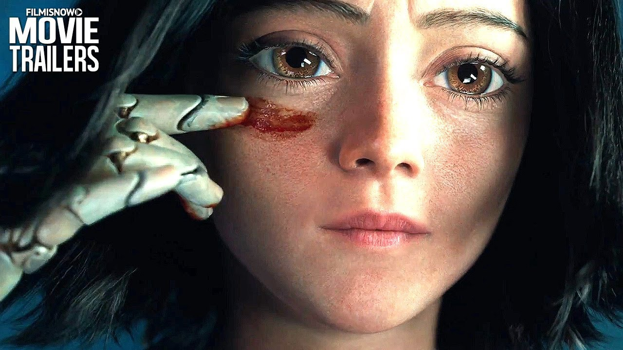 ALITA: BATTLE ANGEL Trailer #3 NEW (2019) - James Cameron Manga Live-Action Movie