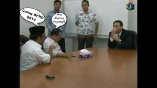 "WAGUB AHOK Di DEMO ""Calon Caleg DPRD 2014 Memaki-maki Ahok"""