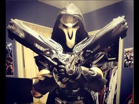 overwatch reaper cosplay build youtube