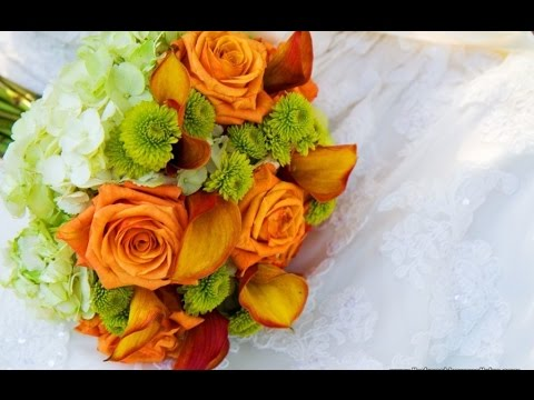 vibrant-orange-and-green-bridal-bouquet