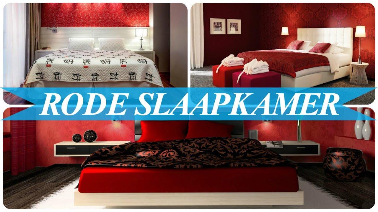 Rode slaapkamer - YouTube