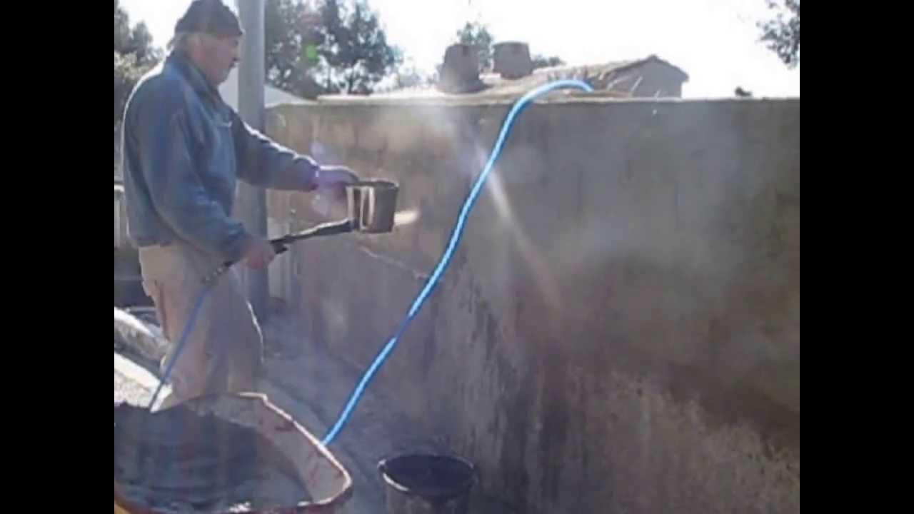 Lance Projecteur Ciment Mortier Crépir Fabrication Maison
