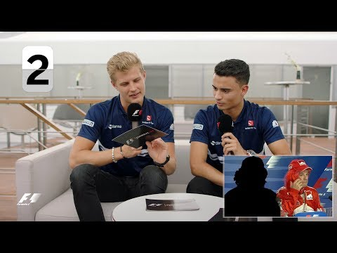 Sauber's Pascal Wehrlein and Marcus Ericsson | F1 Grill The Grid