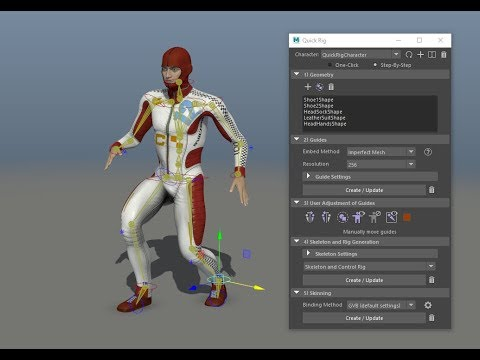 Maya LT Animations How To Create BVH with Blender by Cathy Foil