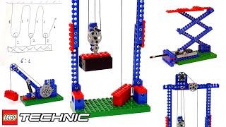 ОДИН ГРУЗ ТЯЖЕЛЕЕ ДВУХ? Обзор ЛЕГО Dacta Technic 1030 (LEGO Education) ЧАСТЬ 5: лебёдка, полиспаст