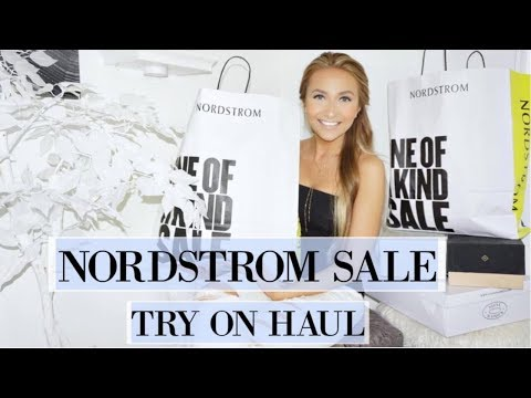 NORDSTROM ANNIVERSARY SALE  | TRY ON HAUL 2017