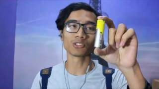 Cstyle Review Mini, cara ngewrap battery.