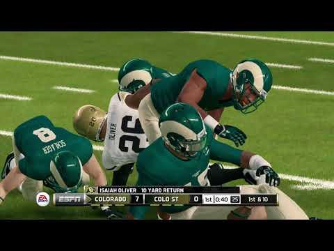 2017 Week 1 Simulation: Colorado Buffaloes vs Colorado State Rams (Rocky Mountain Showdown)