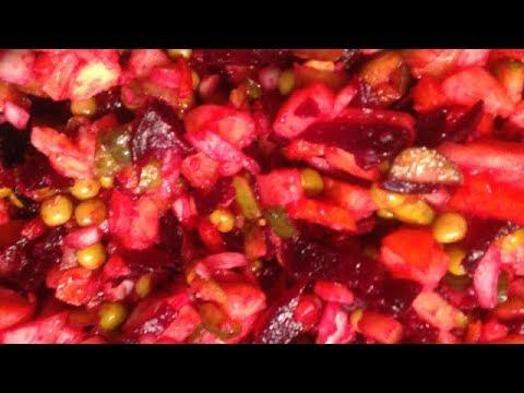салат винегрет с капустой пошаговый рецепт