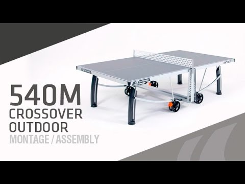 Tutorial To Assemble A Cornilleau 540m Outdoor Table Tennis Table