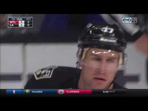 Jeff Carter Scores on Carey Price | Kings Tie Canadiens 1-1