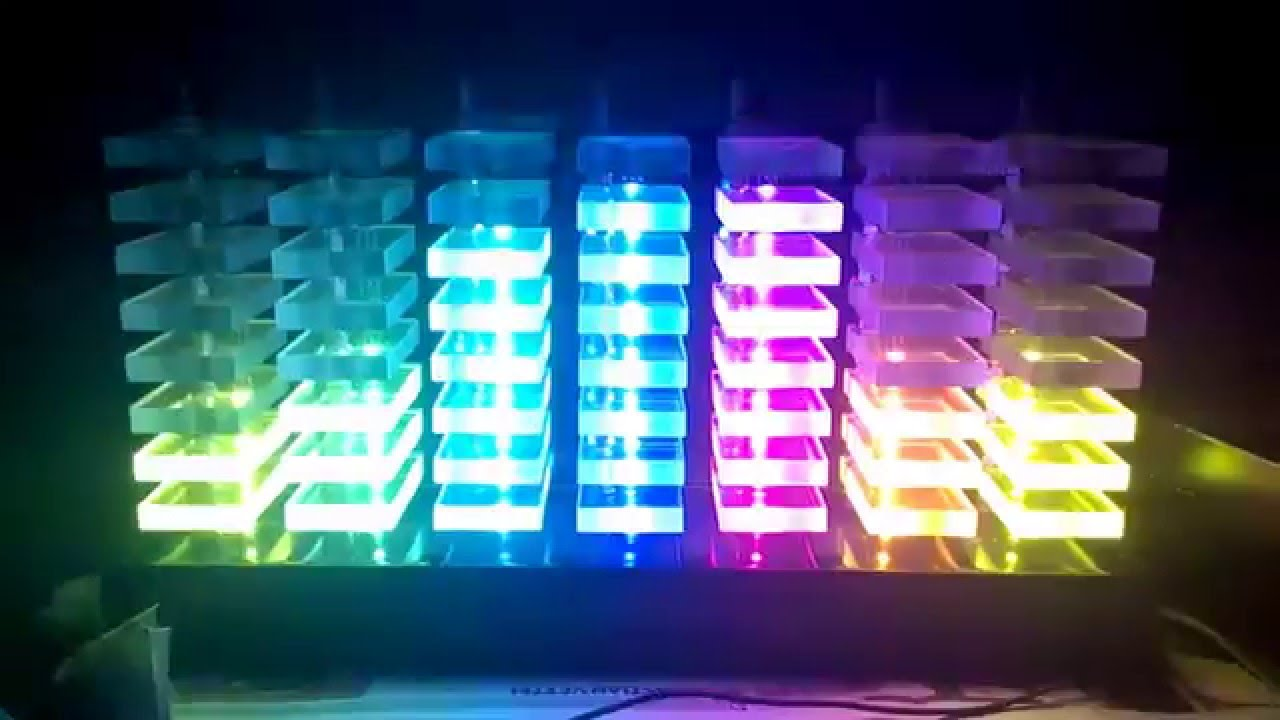 7 Band Digital Music Spectrum Analyzer