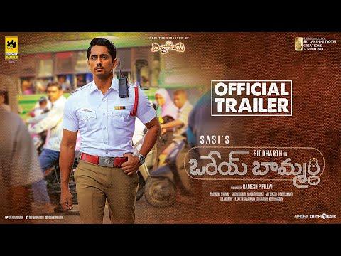Orey Baammardhi Official Trailer | Siddharth | G.V. Prakash Kumar | Sasi | Siddhu Kumar