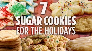 Christmas cookies are everyone's favorite! butter ii: https://www.allrecipes.com/recipe/10011/butter-cookies-ii/chewy sugar cookies: https://www.allr...