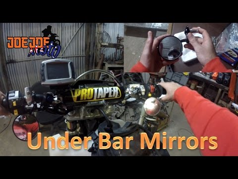 #JJM How To Mount Under Bar Mirrors