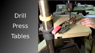 ⚙ Changeable Drill Press Table