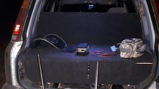 Спальник- рундук в машину.  Honda CR-V  RD-1. Своими руками.