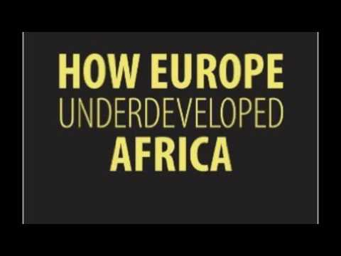 How Europe Underdeveloped Africa (Audiobook)