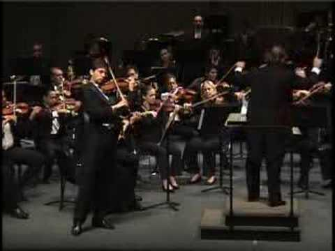 Freitas Branco Violin Concerto, 2nd movement